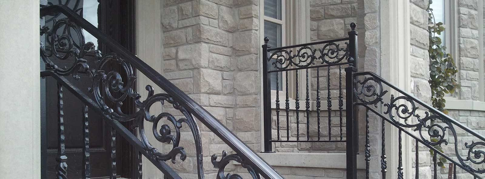 commercial iron railings and fencing